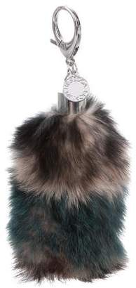 Rebecca Minkoff Fox Fur Bag Charm w/ Tags