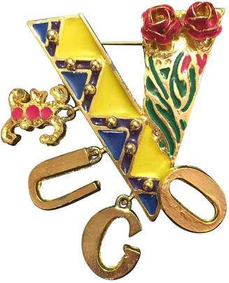 Gianni Versace Vintage Multicolour Metal Pins & brooches