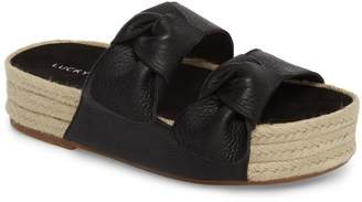 Lucky Brand Izbremma Platform Espadrille Sandal