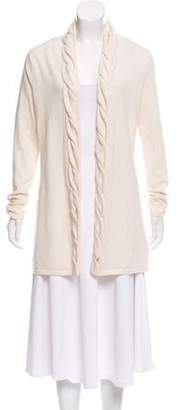 Magaschoni Cashmere Knit Cardigan