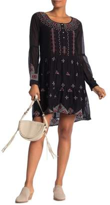 Johnny Was Ava Embroidered Boho Dress