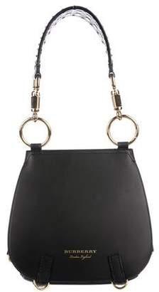 Burberry Double Flap Saddle Bag
