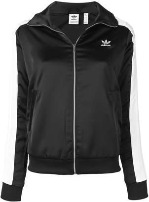 adidas panelled track jacket