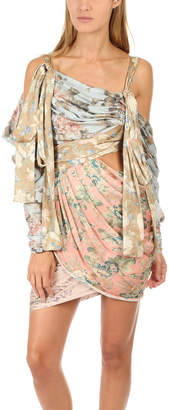 Zimmermann Unbridled Elixir Silk Mini Dress