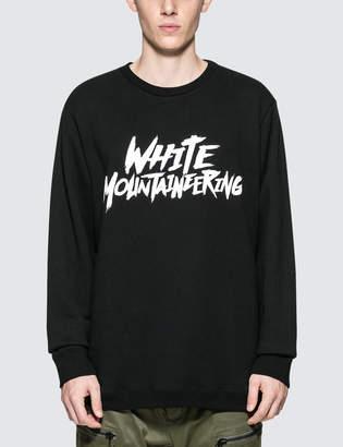 White Mountaineering Printed Sweatshirt