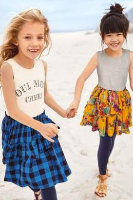 Next Girls Floral Dress And Leggings Set (3-16yrs)