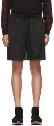 adidas by Alexander Wang Black Soccer Shorts