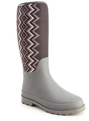 Muk Luks Women's Karen Pull On Rain Boot
