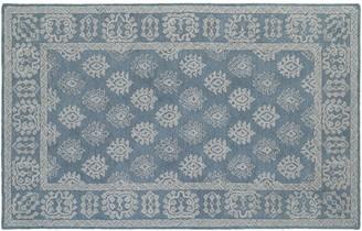 Blue Area Stylehaven StyleHaven Milton Bordered Medallion Wool Rug