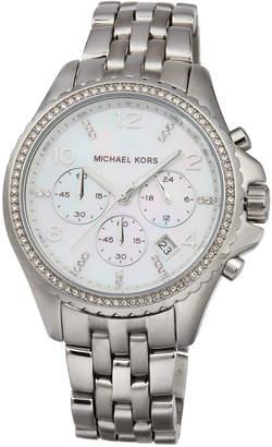 MICHAEL Michael Kors 44mm Pilot Glitz Chronograph Bracelet Watch
