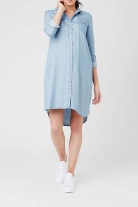 Ripe Maternity Weekend Shirt Dress