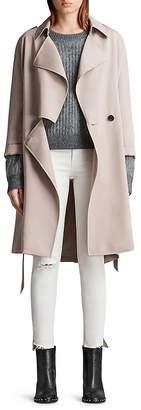 AllSaints Bexley Mac Trench Coat