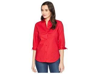 Lauren Ralph Lauren No-Iron Button Down Shirt Women's Clothing