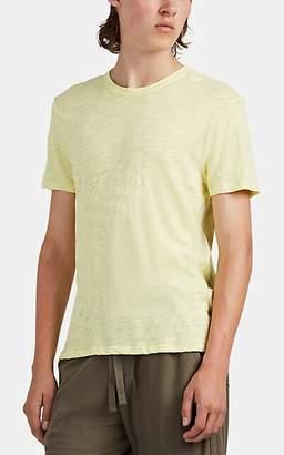ATM Anthony Thomas Melillo Men's Slub Cotton T-Shirt - Yellow