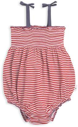 e2dfa83b8994 Burt s Bees Americana Stripe Bubble Organic Baby Girl Romper