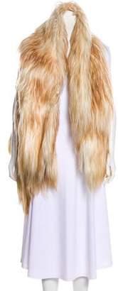 Ann Demeulemeester Collared Shearling Vest