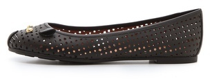 Marc by Marc Jacobs Mouse Perforated Flats