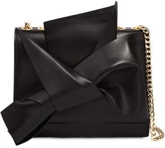 N°21 Large Bow Nappa Leather Shoulder Bag