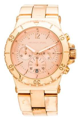 Michael Kors Dylan Rose Gold Chronograph Watch