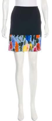 Christian Dior 2014 Silk Mini Skirt