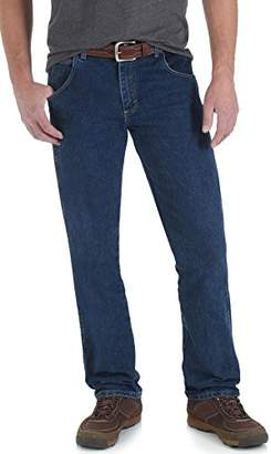 Wrangler Men's Big & Tall Rugged Wear Advanced-Comfort Regular-Fit Jean