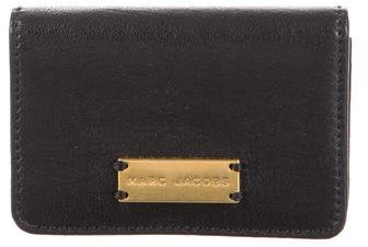 Marc Jacobs Marc Jacobs Leather Compact Wallet