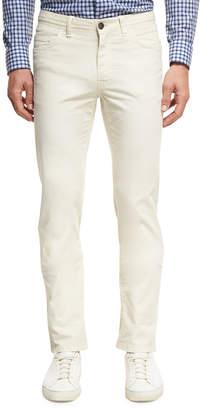 Kiton Twill Five-Pocket Pants, Khaki