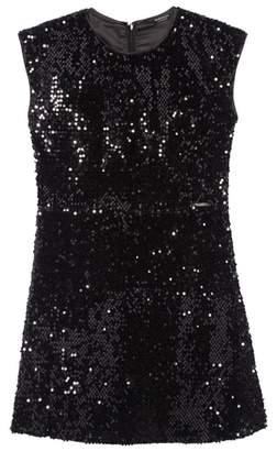 Marciano Sequin Skater Dress