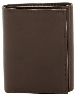 Bosca Double ID Trifold Leather Wallet