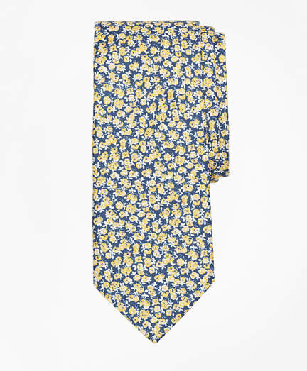 Brooks Brothers  Mini Rose Print Tie