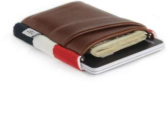 "Americana Tgt ""Tight"" TGT Slim American Flag Leather Wallet Deluxe"""