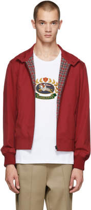 Burberry Red Dalham Jacket