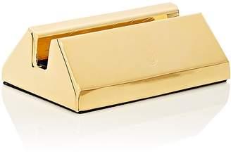 El Casco 23k Gold-Plated Business Card Holder