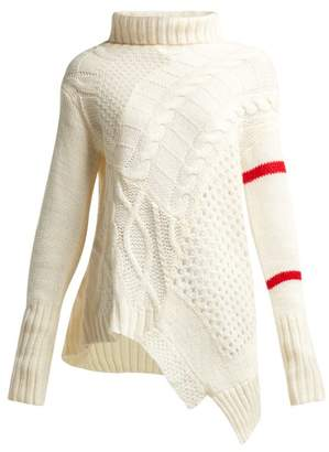 Preen Line Serenity Cable Knit Sweater - Womens - Ivory