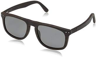 Earth Wood Pacific Polarized Wayfarer Sunglasses