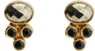 Karen London Alexandria Stud Earrings