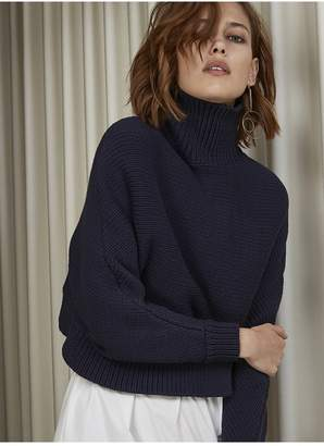 C/Meo COLLECTIVE STOLE THE SHOW KNIT navy