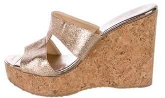 Jimmy Choo Porter Wedge Sandals