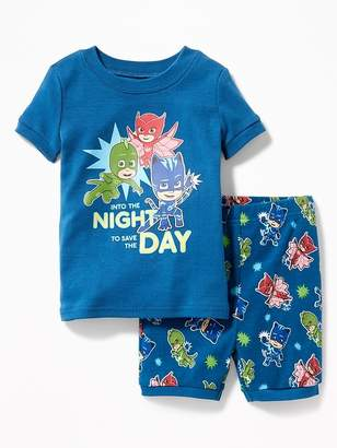 """Old Navy PJ Masks """"Into the Night to Save the Day"""" Sleep Set for Toddler Boys & Baby"""
