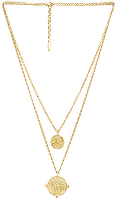 Luv Aj x REVOLVE The Double Coin Charm Necklace