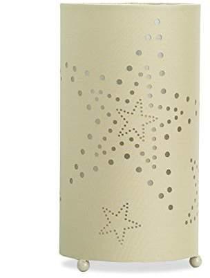 BEIGE Aratextil Laura Table Lamp, Polyester/Cotton, Beige, 25 W