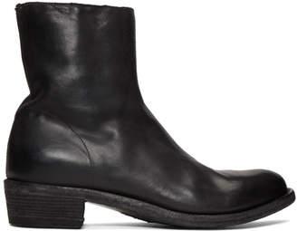 Officine Creative Black Ponti 001 Devil Boots