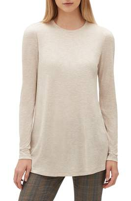 Lafayette 148 New York Lexia Featherweight Jersey Top