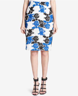 Calvin Klein Lace Pencil Skirt