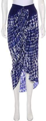 Thakoon Silk Midi Skirt