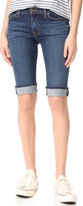 Hudson Knee Shorts $135 thestylecure.com