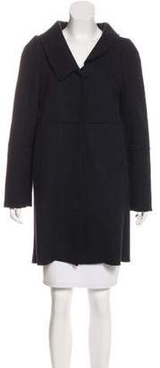 Marni Wool-Blend Knee-Length Coat