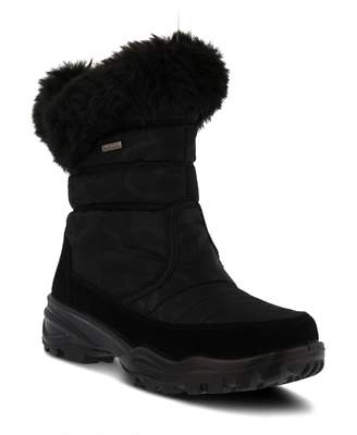 Spring Step Korine Waterproof Faux Fur Bootie