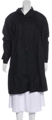 eskandar Puffy Short Coat Black Puffy Short Coat
