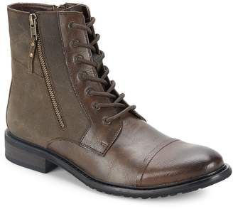 Kenneth Cole Men's Side-Zippered Boots